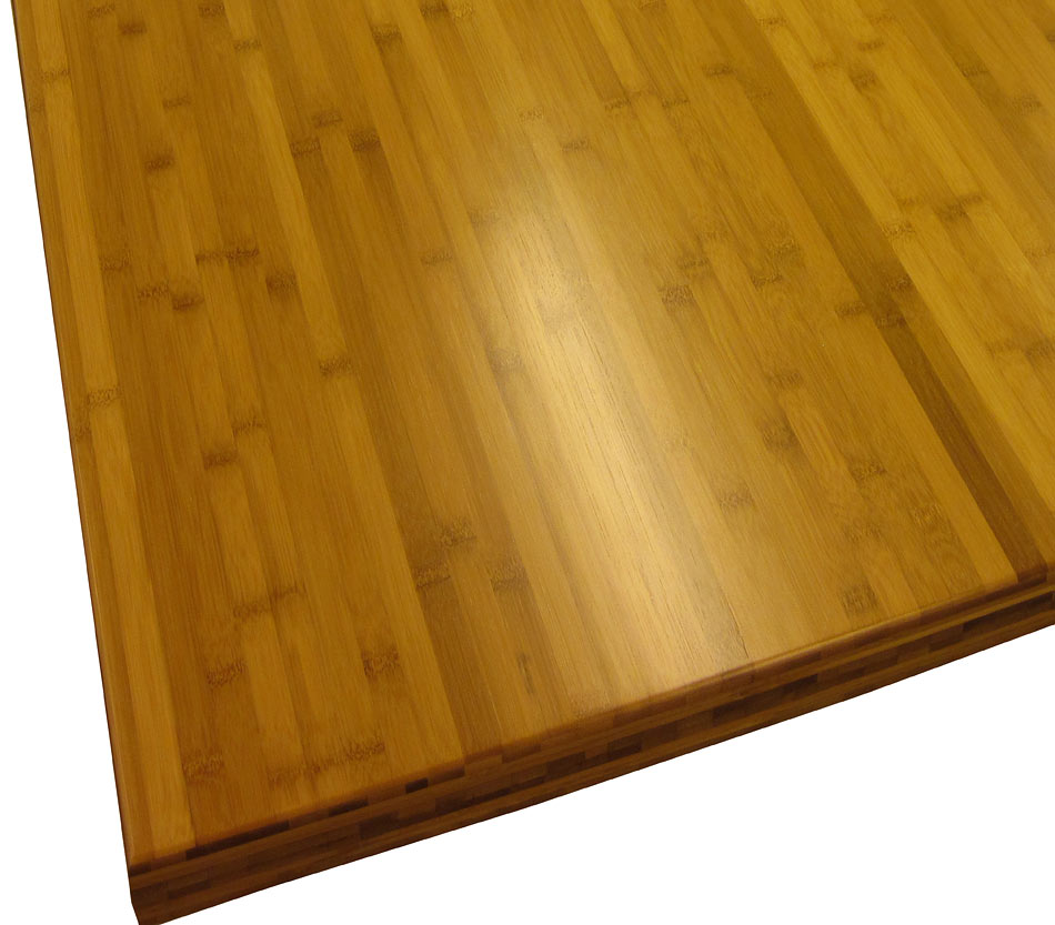 ... Carbonized Bamboo Flat Grain Wood Counter Photo ...