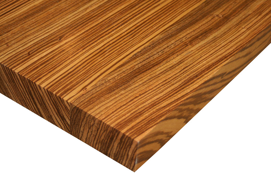 Custom Wood Counters Flat Grain by Grothouse