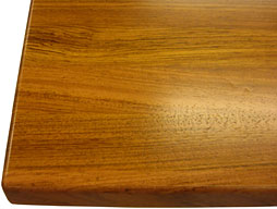 Custom Brazilian Cherry Edge Grain Wood Countertop