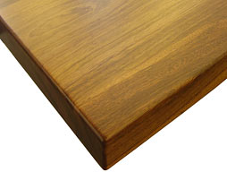 Image of Brazilian Cherry Flat Grain Wood Counter