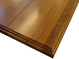 Photo of Brazilian Cherry Flat Grain Wood Counter