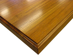 Brazilian Cherry Wood Countertop in Edge Grain Construction