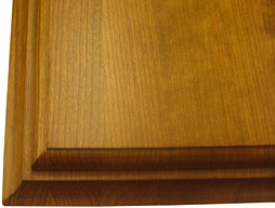 Custom Cherry Wood Counter top in Edge Grain Construction