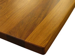 Photo of Custom Brazilian Cherry Flat Grain Counter
