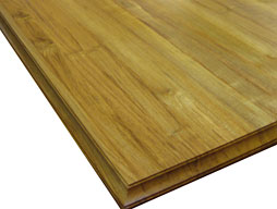 Image of a Burmese Teak Edge Grain Wood Countertop