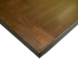 Walnut Edge Grain Wood Countertop Photo