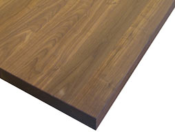 Photo of Custom Walnut Flat Grain Counter