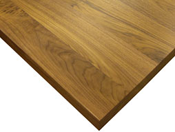 Photo of Custom Walnut Wood Flat Grain Counter