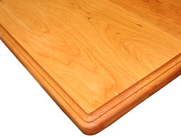 Photo of Flat Grain Cherry Wood Counter