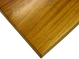 Photo of Iroko Flat Grain Counter