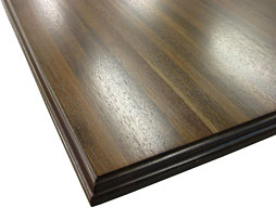 Custom Peruvian Walnut Edge Grain Wood Countertop Photo
