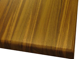 Photo of Teak Edge Grain Wood Countertop