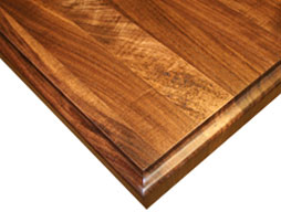 Photo of a Walnut Edge Grain Wood Countertop