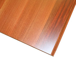 Photo of Santos Mahogany Flat Grain Wood Counter