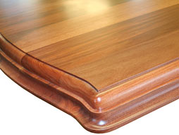 Photo of Santos Mahogany Wood Flat Grain Counter