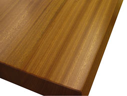 Photo of Sapele Mahogany Flat Grain Counter