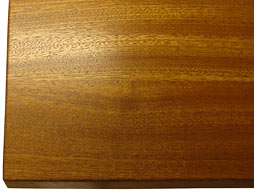 Picture of Sapele Mahogany Flat Grain Counter