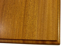 Image of Sapele Mahogany Flat Grain Wood Counter