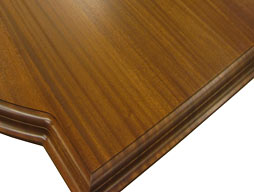 Photo of Sapele Mahogany Flat Grain Wood Counter