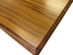 Photo of Sapele Mahogany Wood Flat Grain Counter