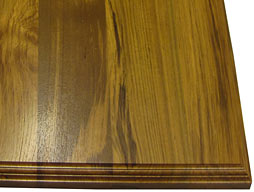 Photo of Teak Wood Flat Grain Counter