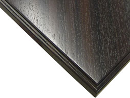 Wenge Wood Countertop in Edge Grain Construction Photo