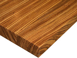 Photo of Zebrawood Flat Grain Counter