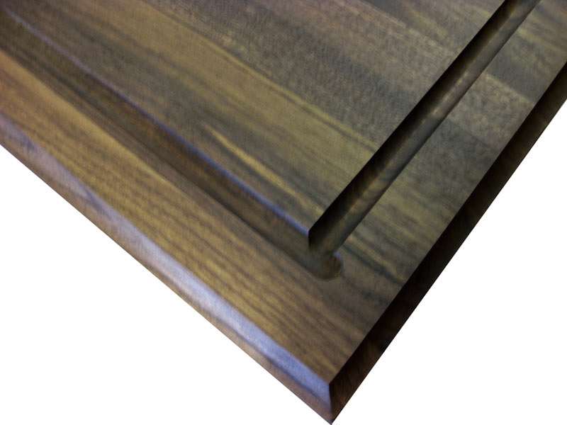 Wood Countertops With Juice Grooves By Grothouse