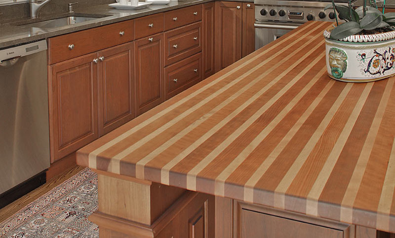 Beech Wood Kitchen Counter