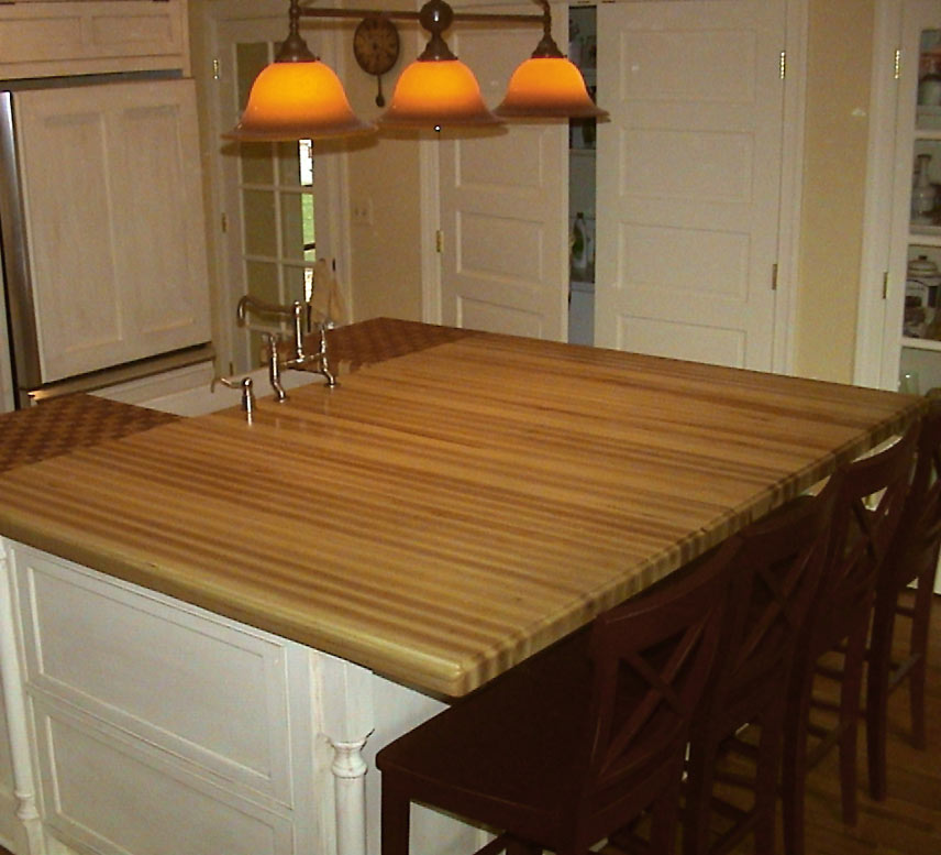 Charmant Ash Wood Countertop