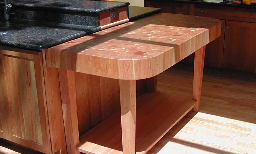 Cherry wood countertops bar tops butcher block countertops How to install butcher block countertop