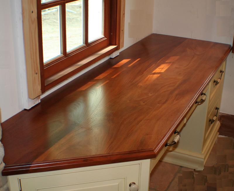 Mahogany Wood Countertops Butcher Block Countertops Bar Tops : Genuine Mahogany Wood Counter Flat Grain from www.glumber.com size 800 x 655 jpeg 163kB