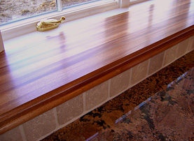 Genuine Mahogany Wood Countertop