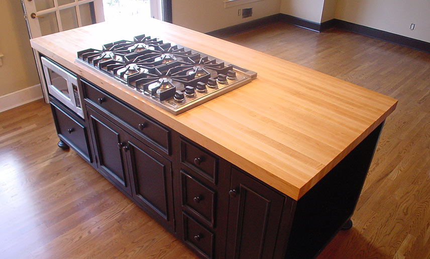 Island Countertop With Stove : Index of /images/wood-species/maple