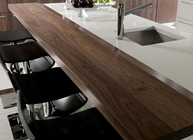 Walnut Wood Bar Top