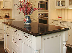 Wenge Island Wood Countertop