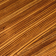 Zebrawood Wood Countertop