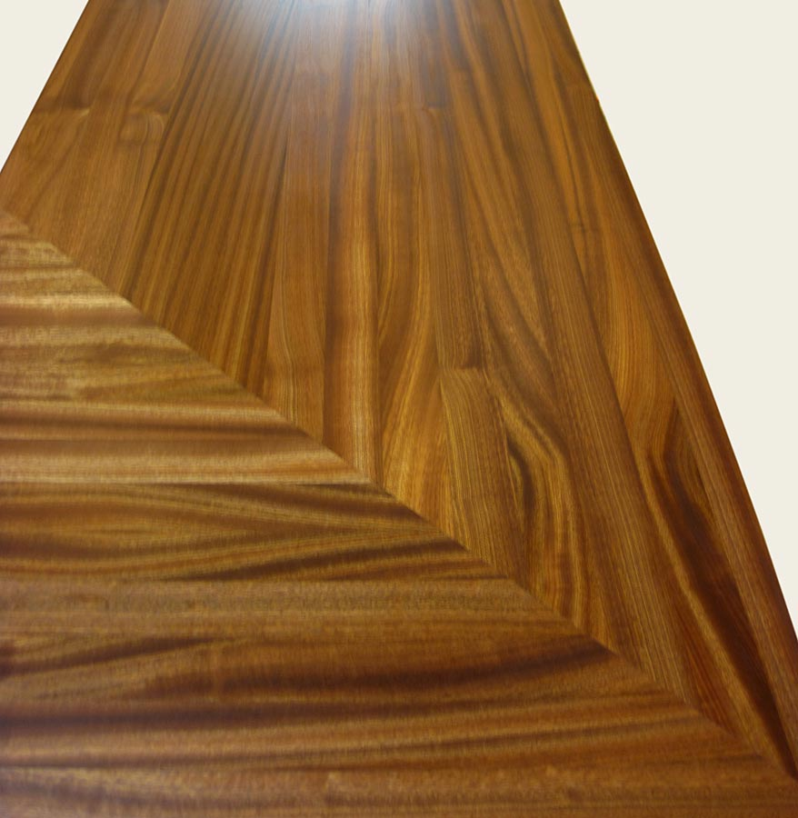 Wood Countertop Mitered corner