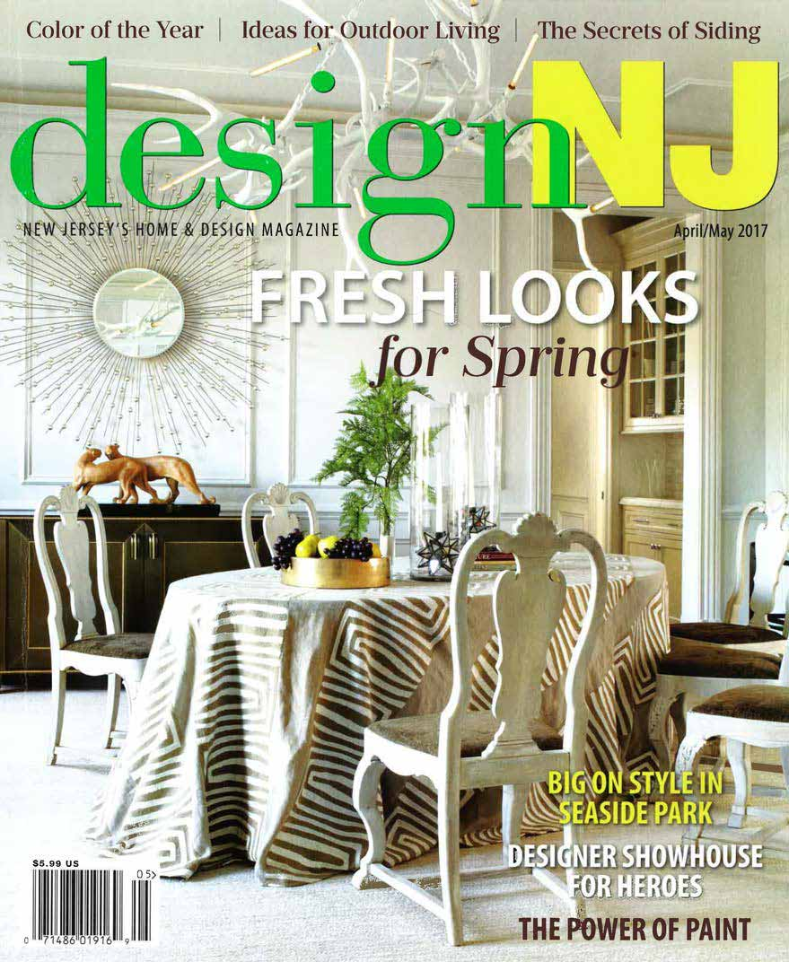 Grothouse Peruvian Walnut Butcher Block In Design NJ April May 2017