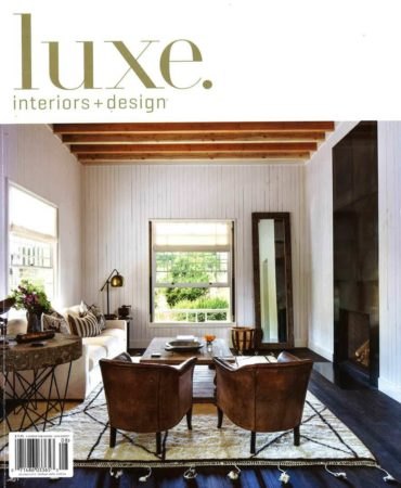 Grothouse Kitchen Island Wood Countertop featured in Luxe Magazine