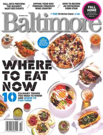Peruvian Walnut Kitchen Island in Baltimore Magazine