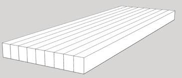 Edge Grain Wood Countertop Construction Style