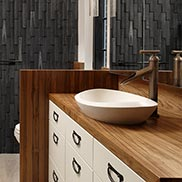 Burmese Teak Wood Vanity Top for a master bath Washington DC
