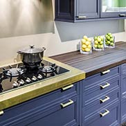 Anvil Magnum Metal Finished Wood Countertop in New York City