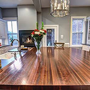 Peruvian Walnut Countertop in Virginia
