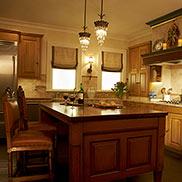 Sapele Mahogany Wood Kitchen Island Counter