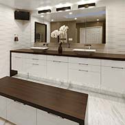 Wenge Pastore Countertops in Bethesda, Maryland