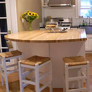 American Beech Wood Countertop in NJ