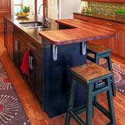 Brazilian Cherry Wood Countertop