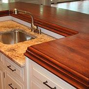 Wood Kitchen Island Countertop